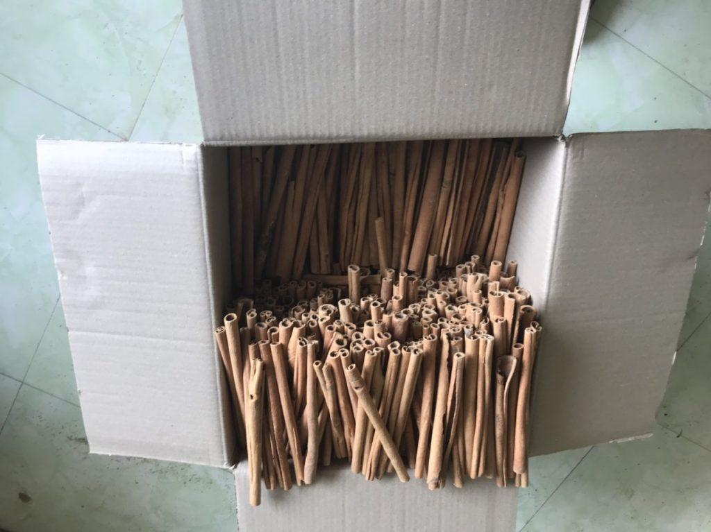 Cinnamon Stick 20cm length Cassia Vera 20cm roll 90% Cinnamon Cassia Vietnam
