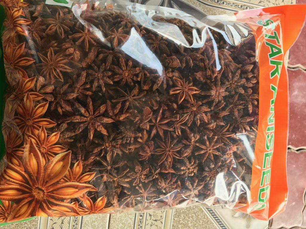 Star Anise in retail packing 1kg, best price star anise in Vietnam, anis estrellado red
